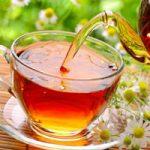 با چای