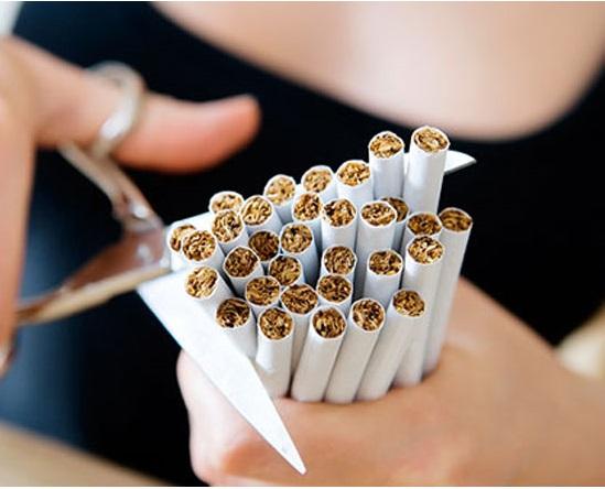 مصرف آجیل برای ترک سیگار